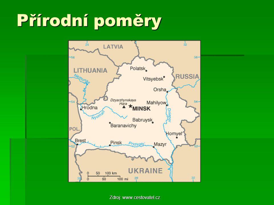 Přírodní poměry Zdroj: www.cestovatel.cz