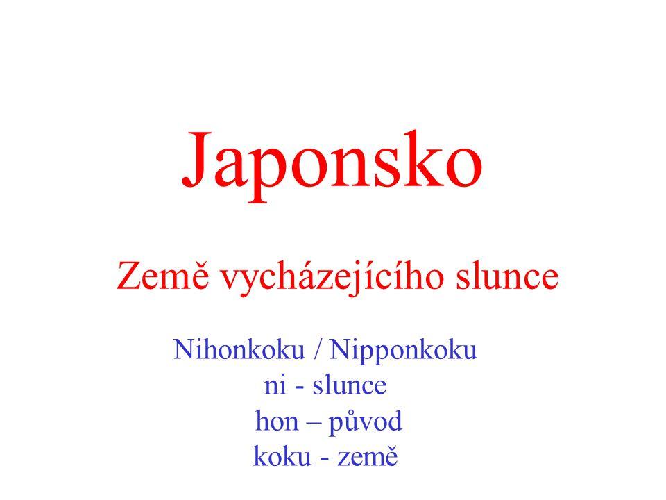 Japonsko Země vycházejícího slunce
