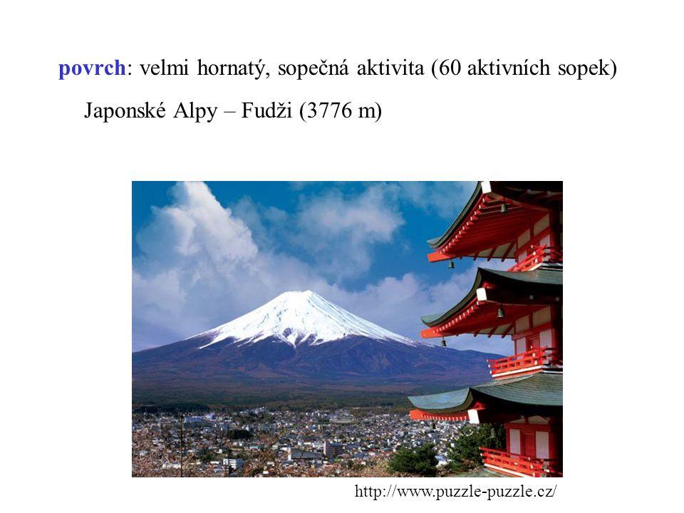 Japonské Alpy – Fudži (3776 m)