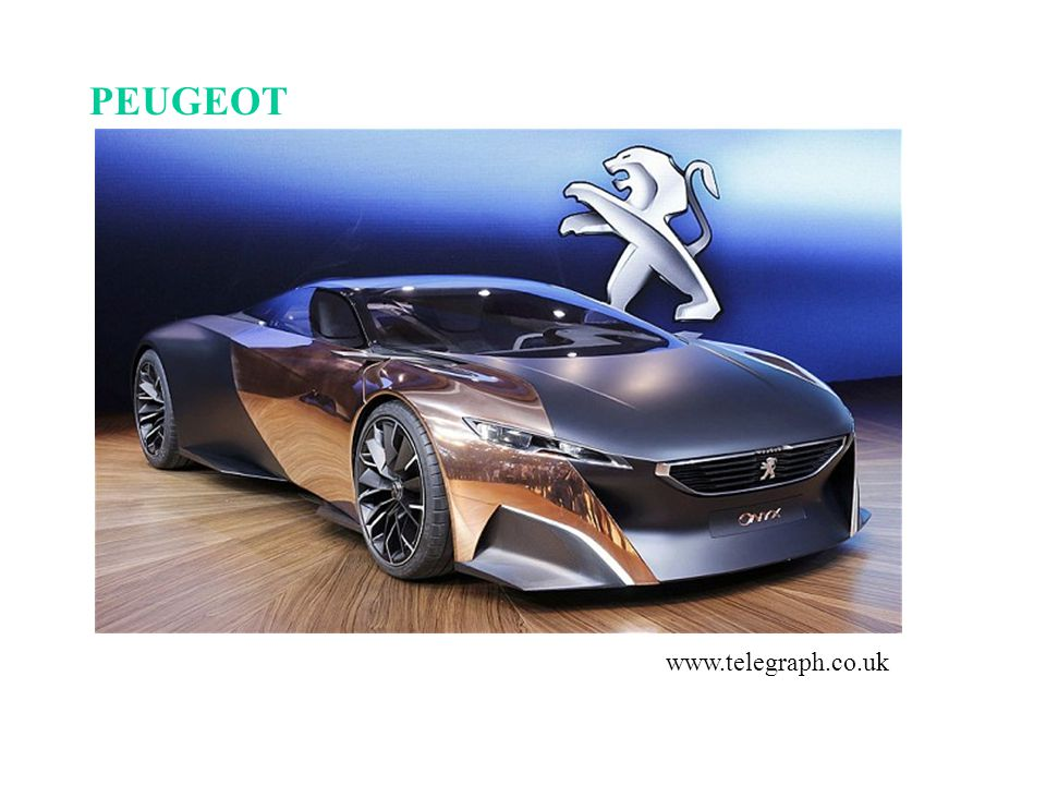 PEUGEOT www.telegraph.co.uk