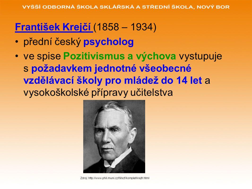 přední český psycholog
