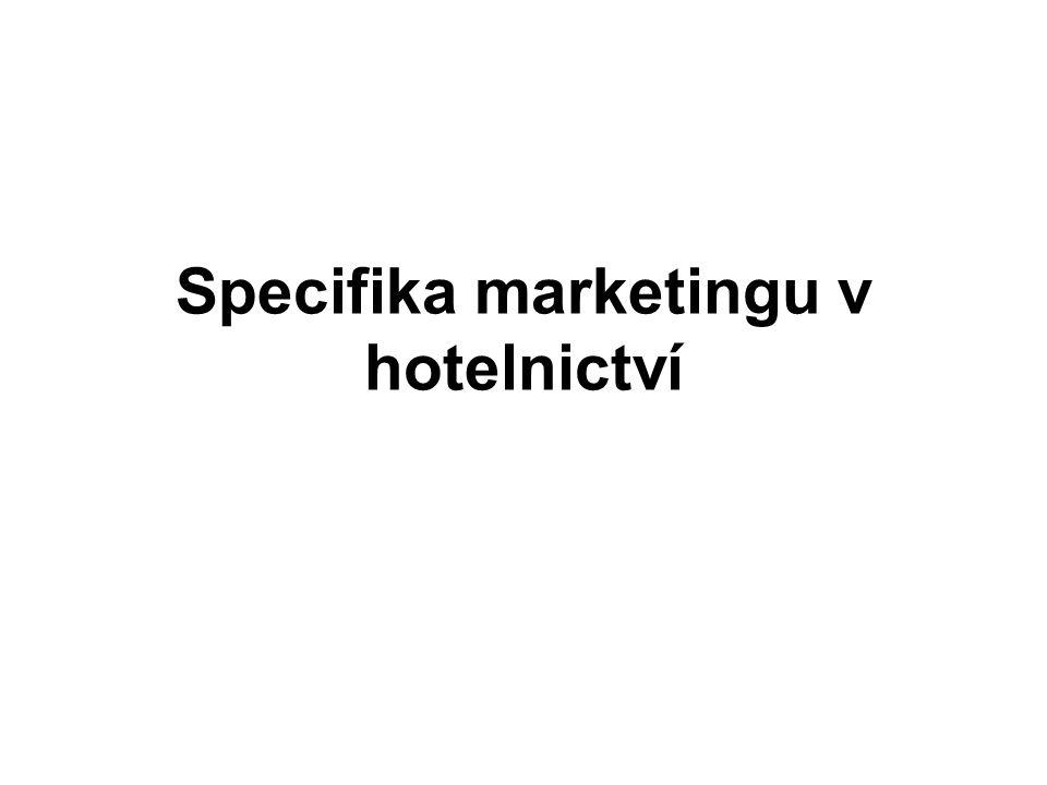 Specifika marketingu v hotelnictví