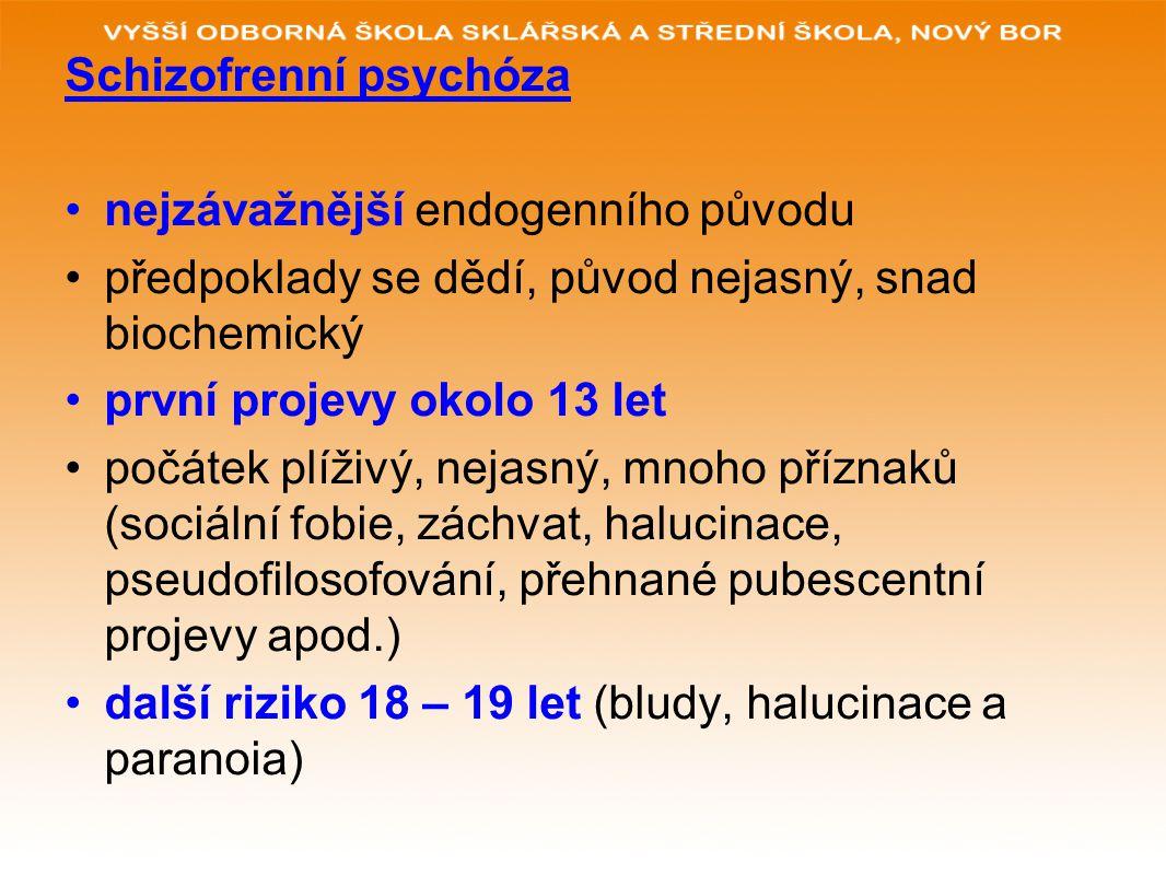 Schizofrenní psychóza