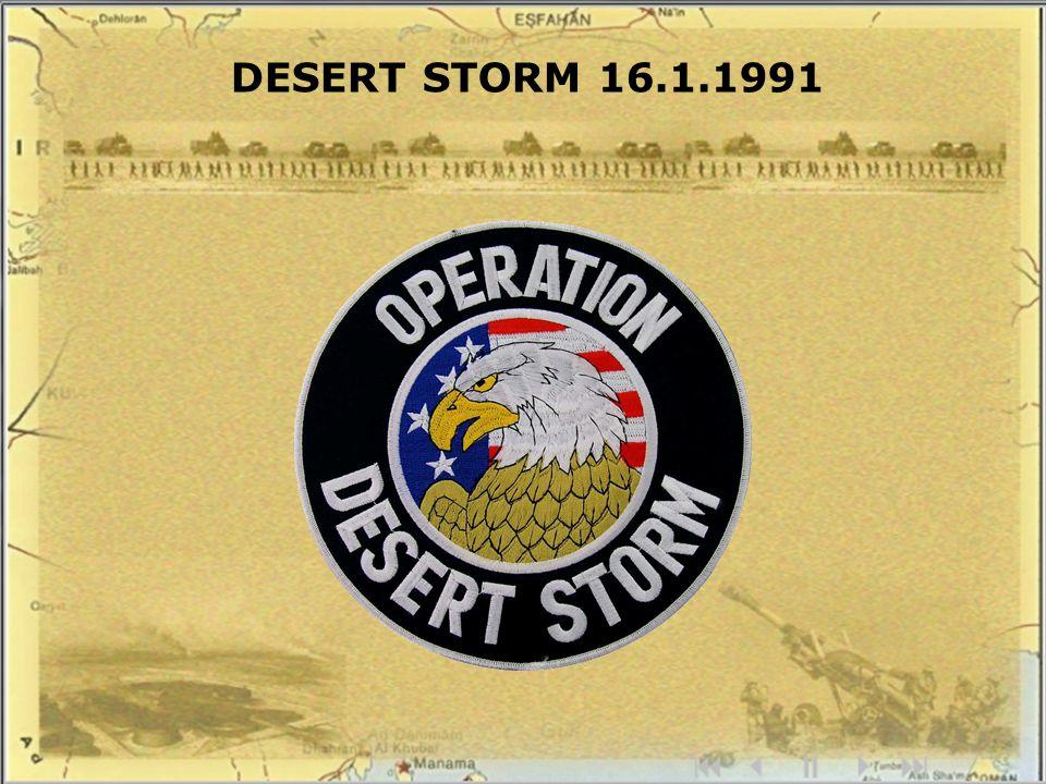 DESERT STORM 16.1.1991
