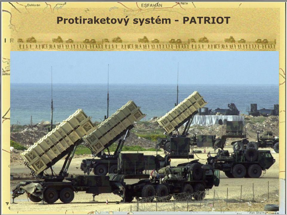 Protiraketový systém - PATRIOT