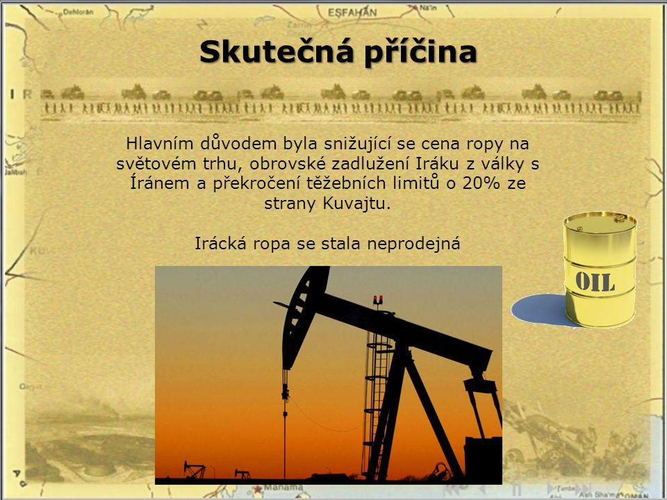 Irácká ropa se stala neprodejná
