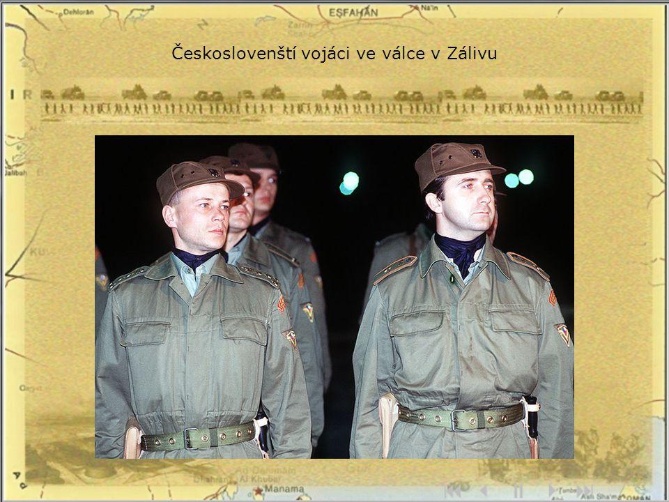 Českoslovenští vojáci ve válce v Zálivu