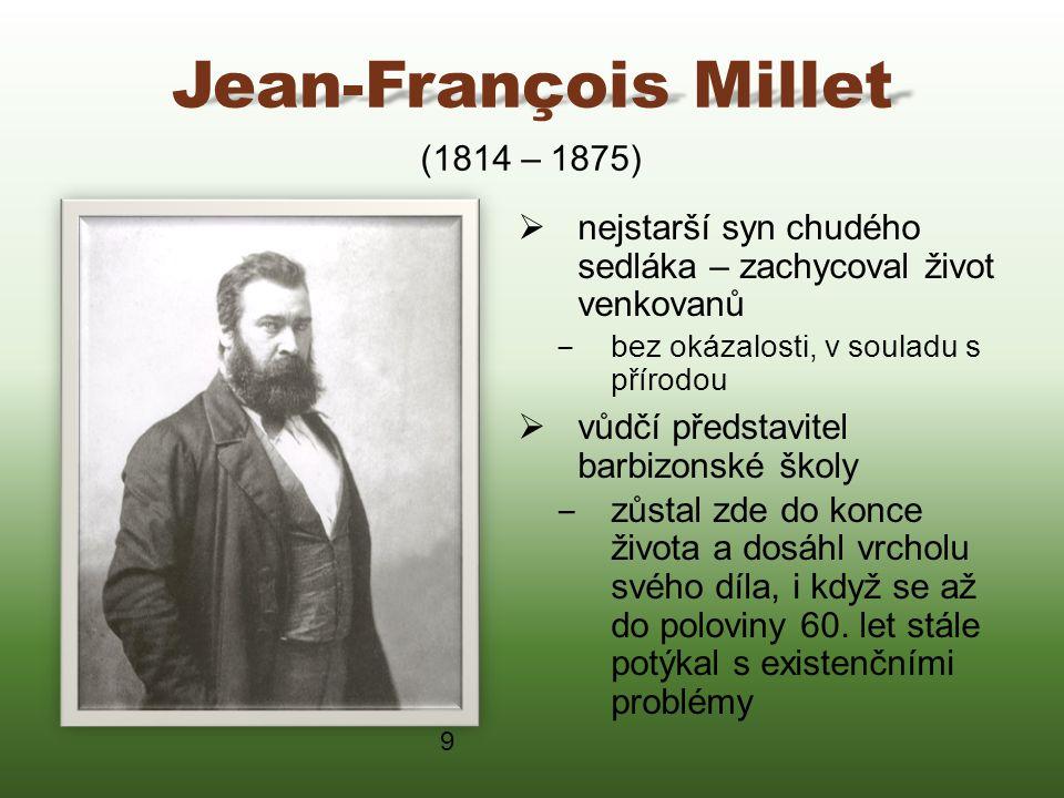 Jean-François Millet (1814 – 1875)