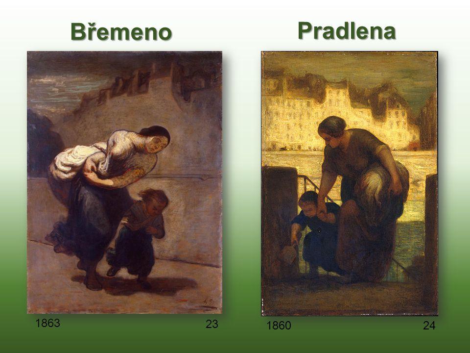 Břemeno Pradlena 1863 23 1860 24