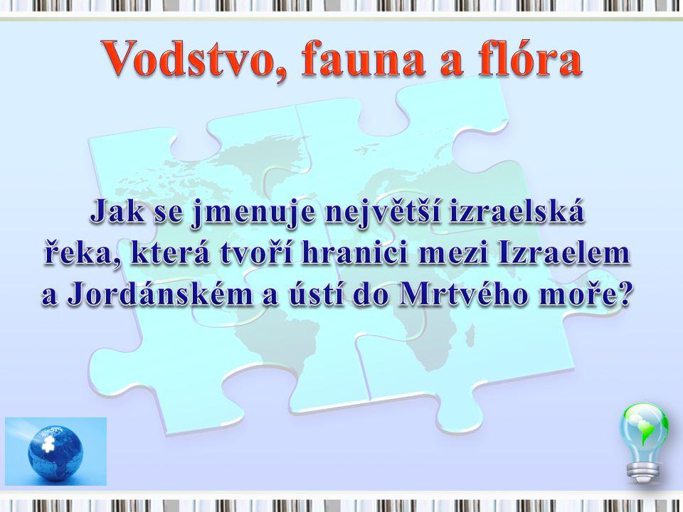 Vodstvo, fauna a flóra Jak se jmenuje největší izraelská