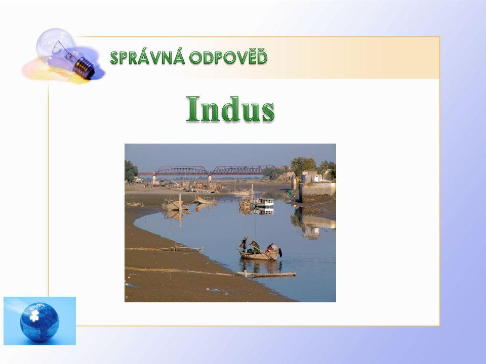 SPRÁVNÁ ODPOVĚĎ Indus.