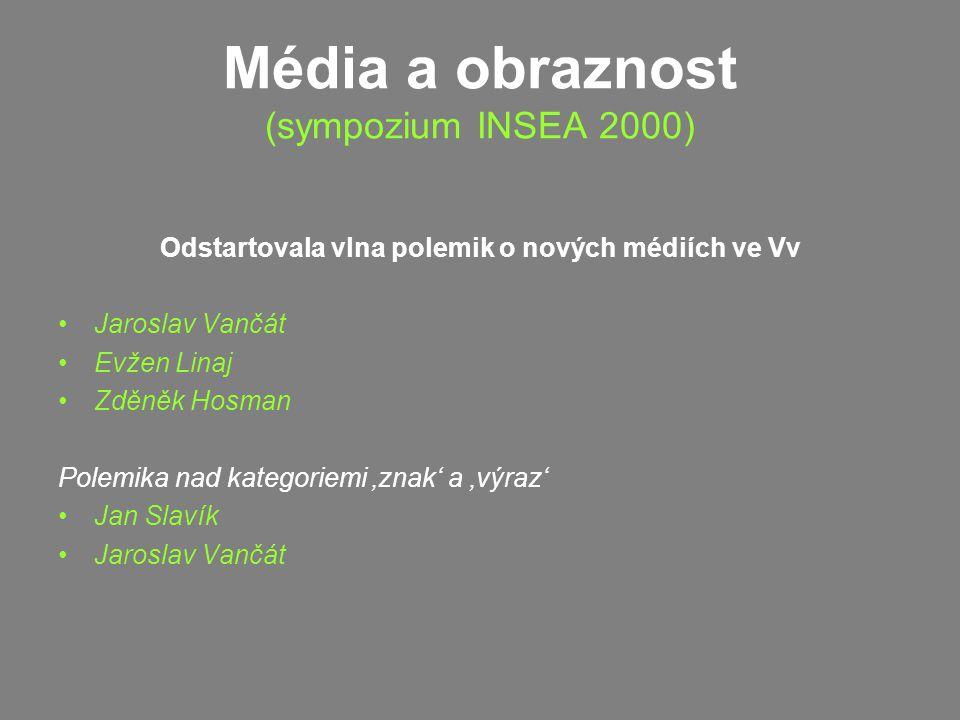 Média a obraznost (sympozium INSEA 2000)