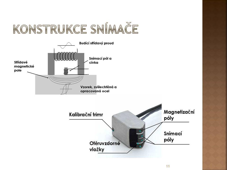Konstrukce snímače