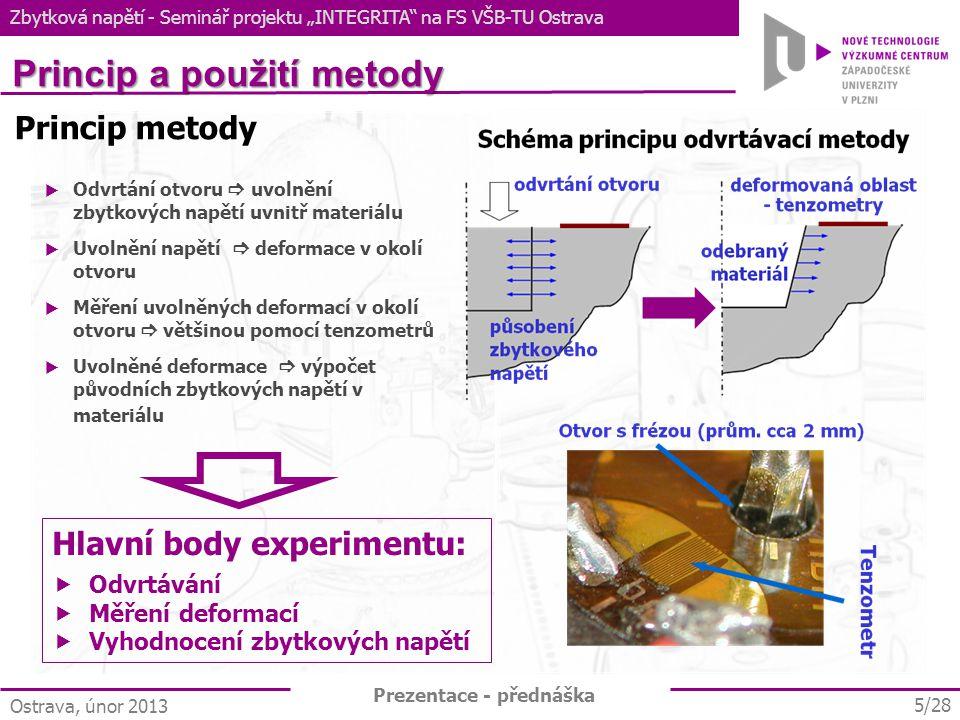 Princip a použití metody
