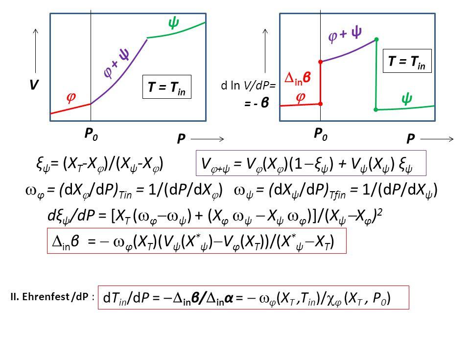 V+ψ = V(X)(1 ξψ) + Vψ(Xψ) ξψ