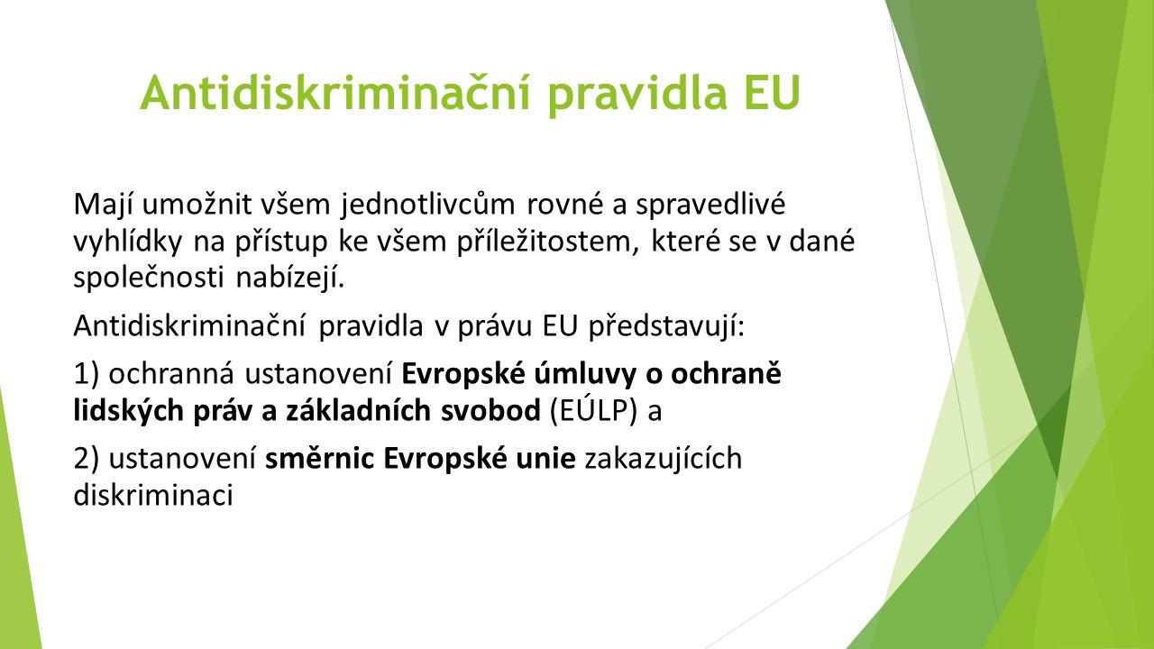 Antidiskriminační pravidla EU