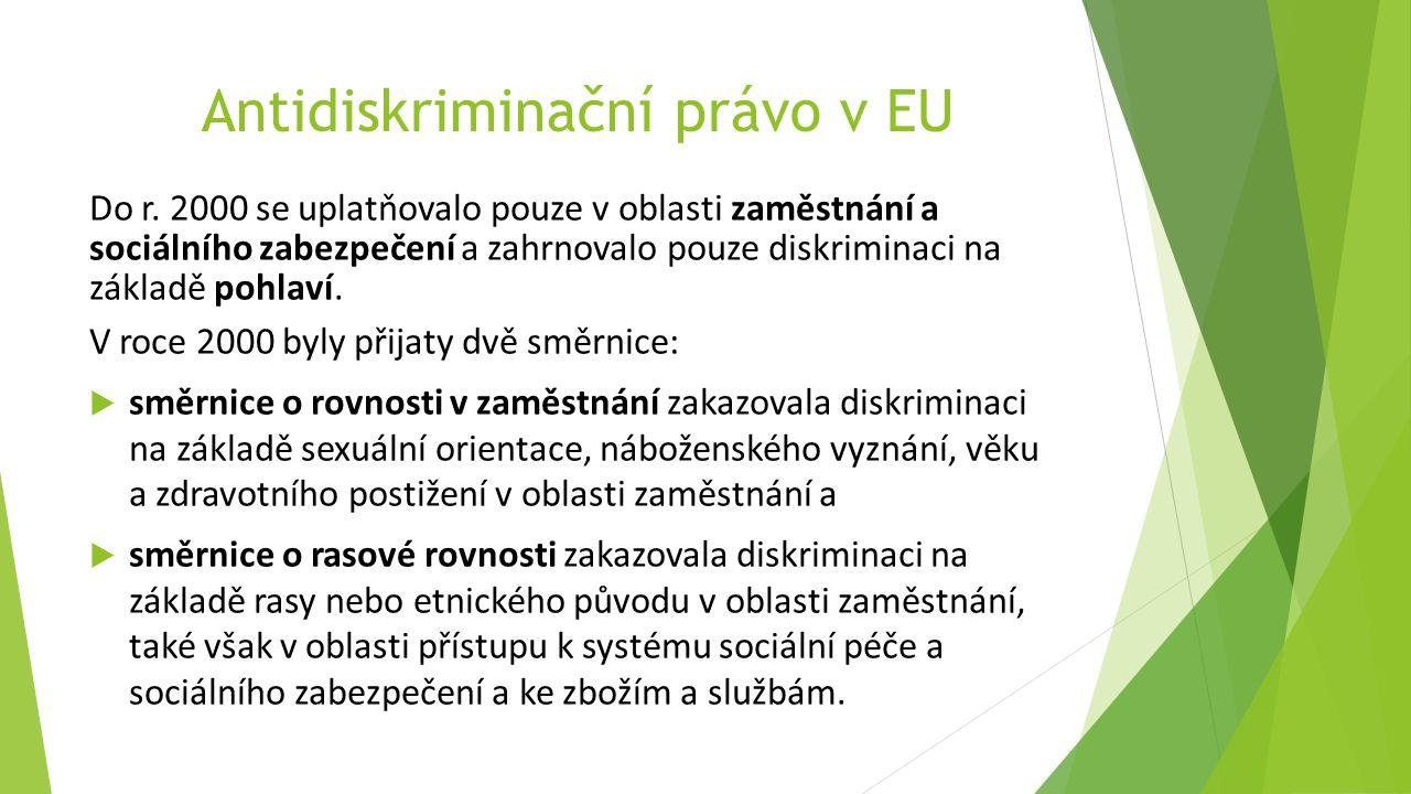 Antidiskriminační právo v EU