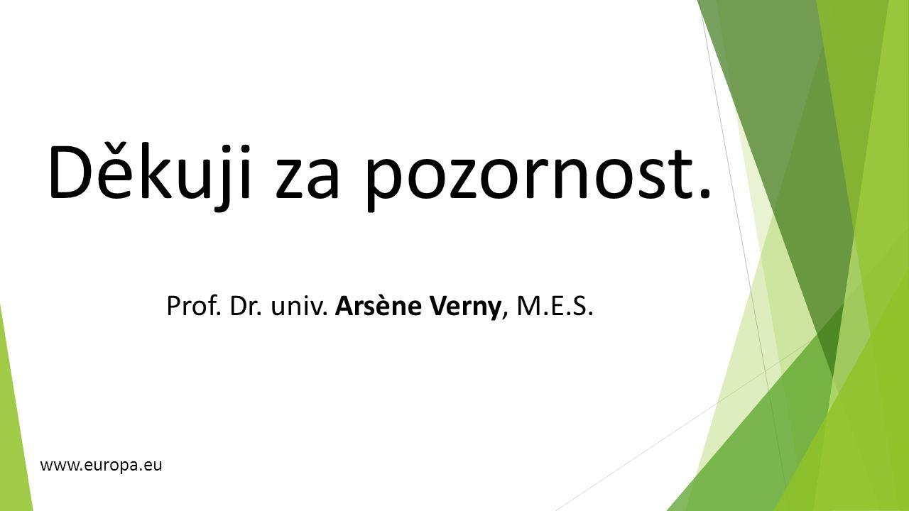 Prof. Dr. univ. Arsène Verny, M.E.S.