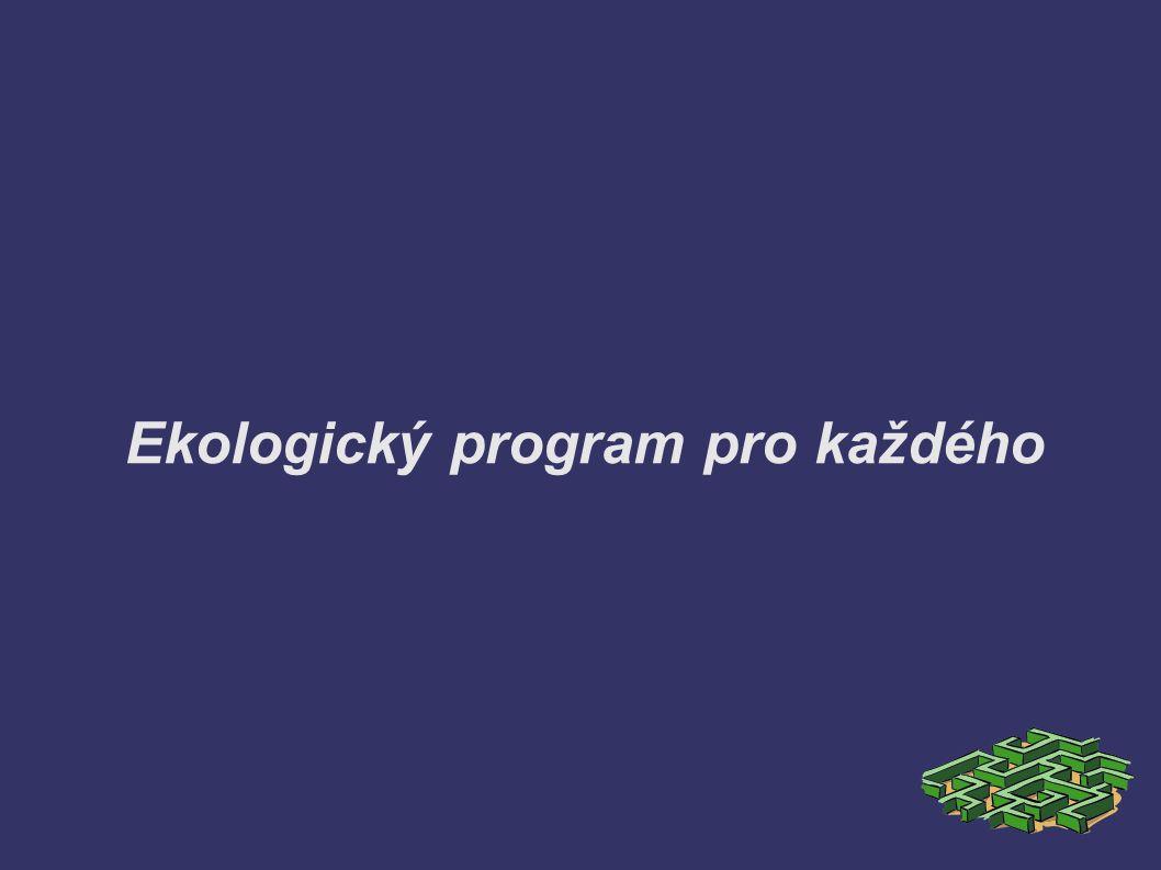 Ekologický program pro každého