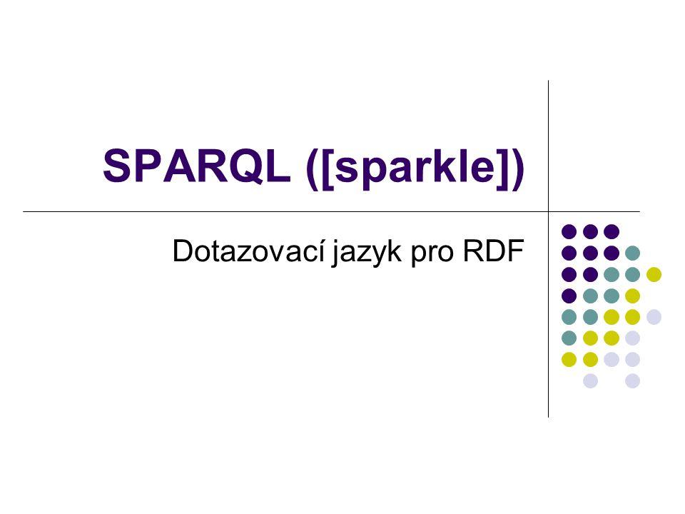 Dotazovací jazyk pro RDF