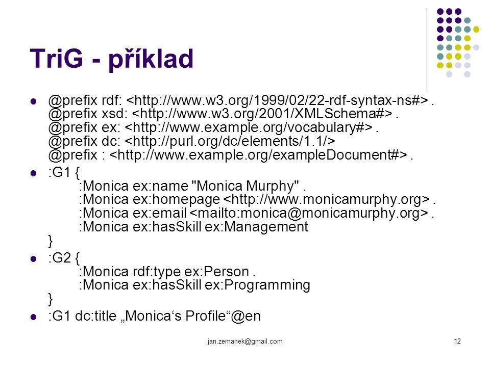 TriG - příklad