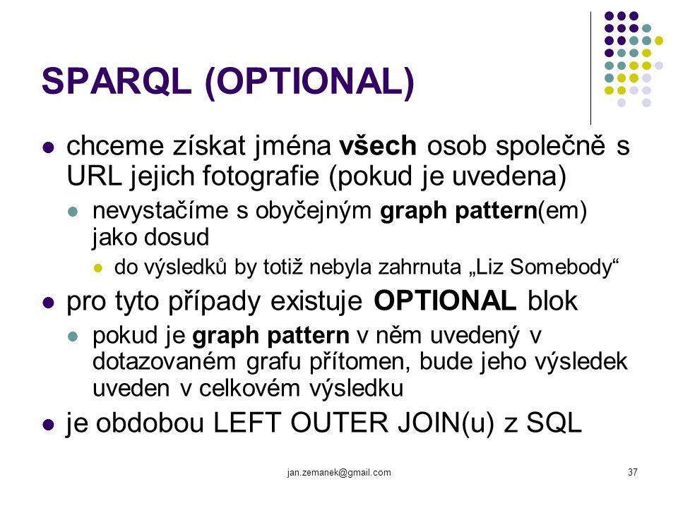 SPARQL (OPTIONAL) chceme získat jména všech osob společně s URL jejich fotografie (pokud je uvedena)