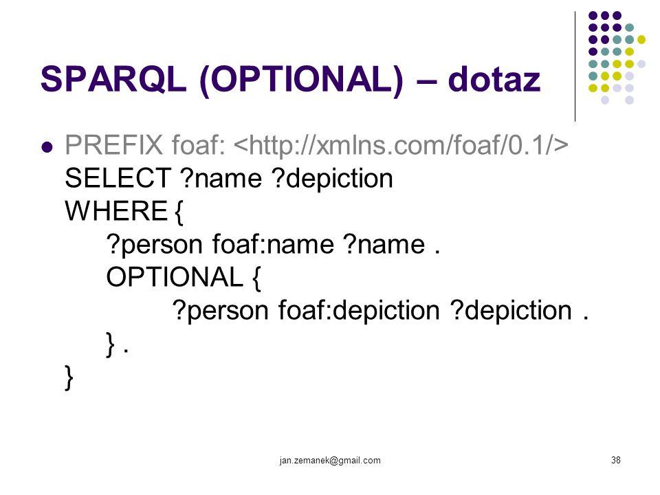 SPARQL (OPTIONAL) – dotaz
