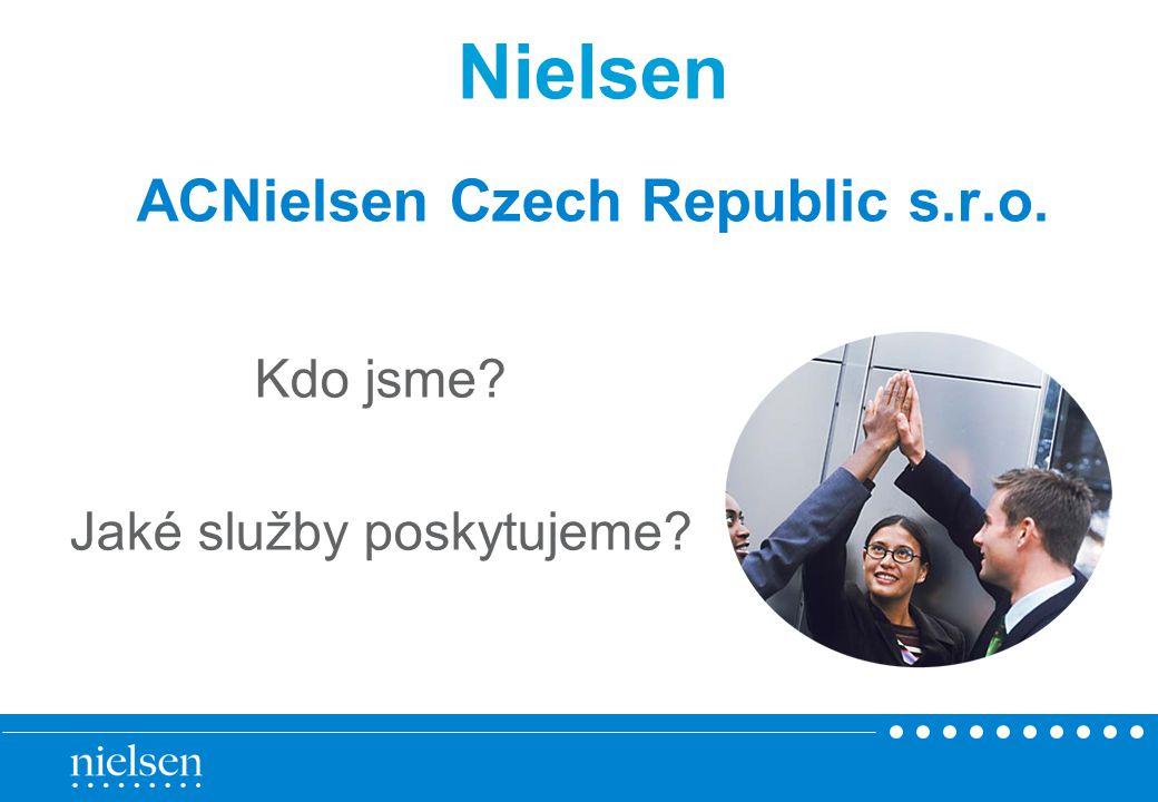 Nielsen ACNielsen Czech Republic s.r.o.