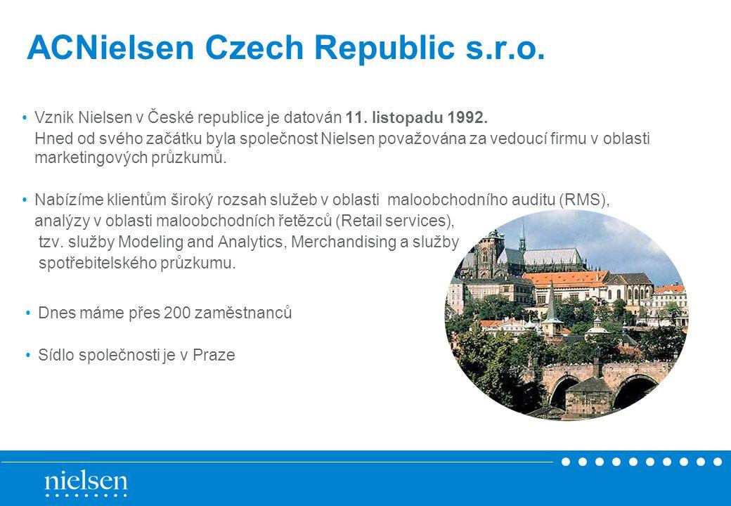 ACNielsen Czech Republic s.r.o.