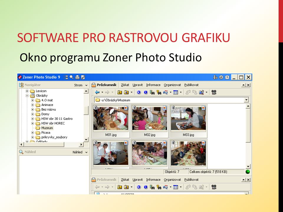 Software pro rastrovou grafiku