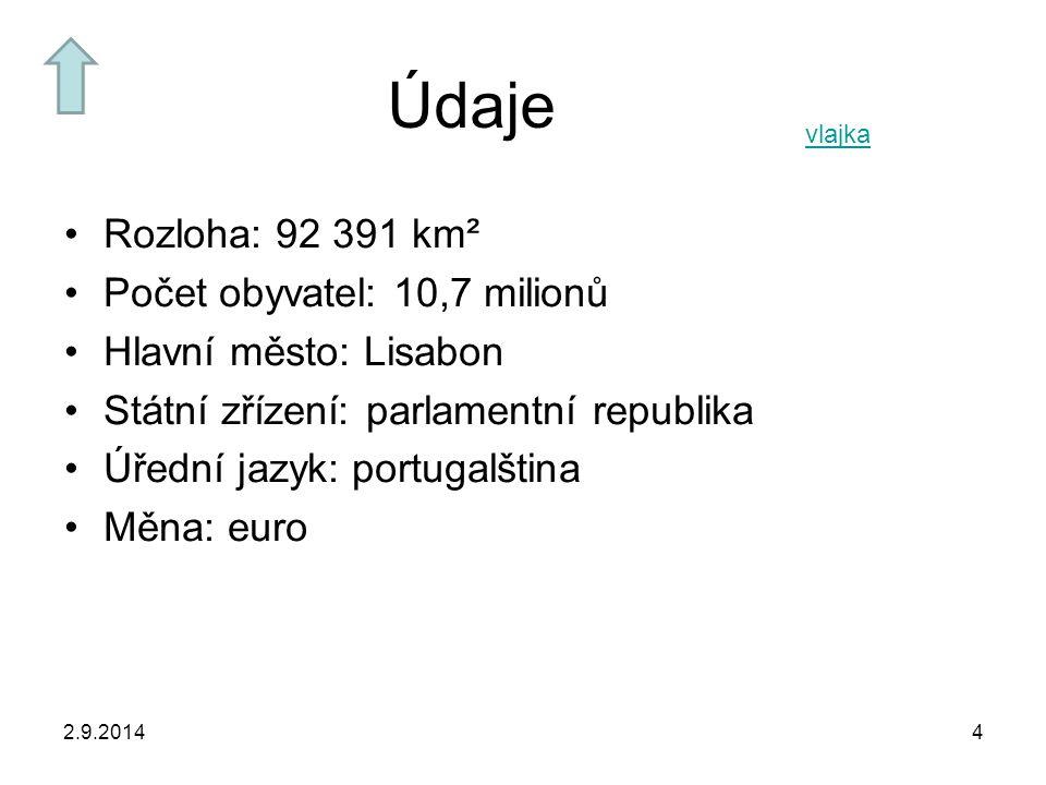 Údaje Rozloha: 92 391 km² Počet obyvatel: 10,7 milionů
