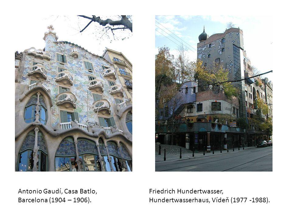 Antonio Gaudí, Casa Batlo, Barcelona (1904 – 1906).