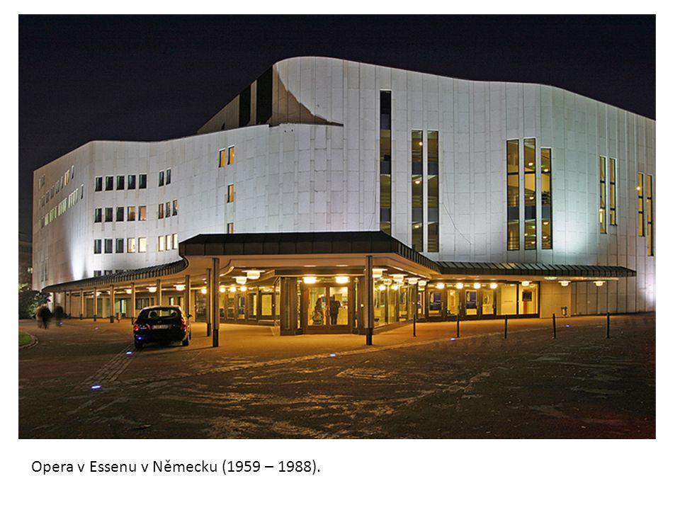 Opera v Essenu v Německu (1959 – 1988).