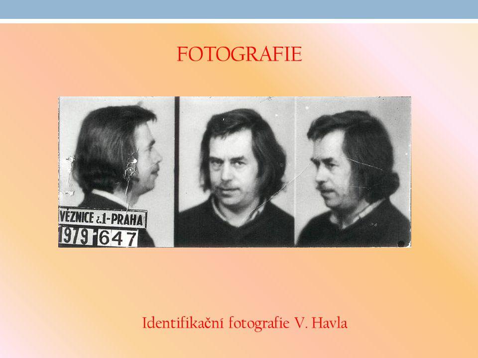Identifikační fotografie V. Havla