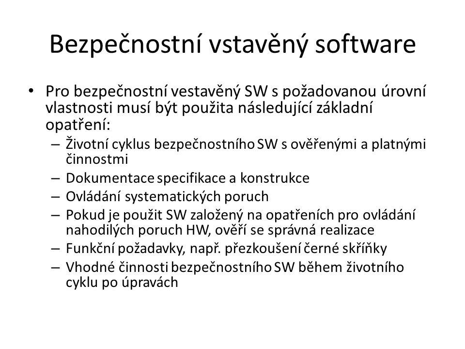Bezpečnostní vstavěný software