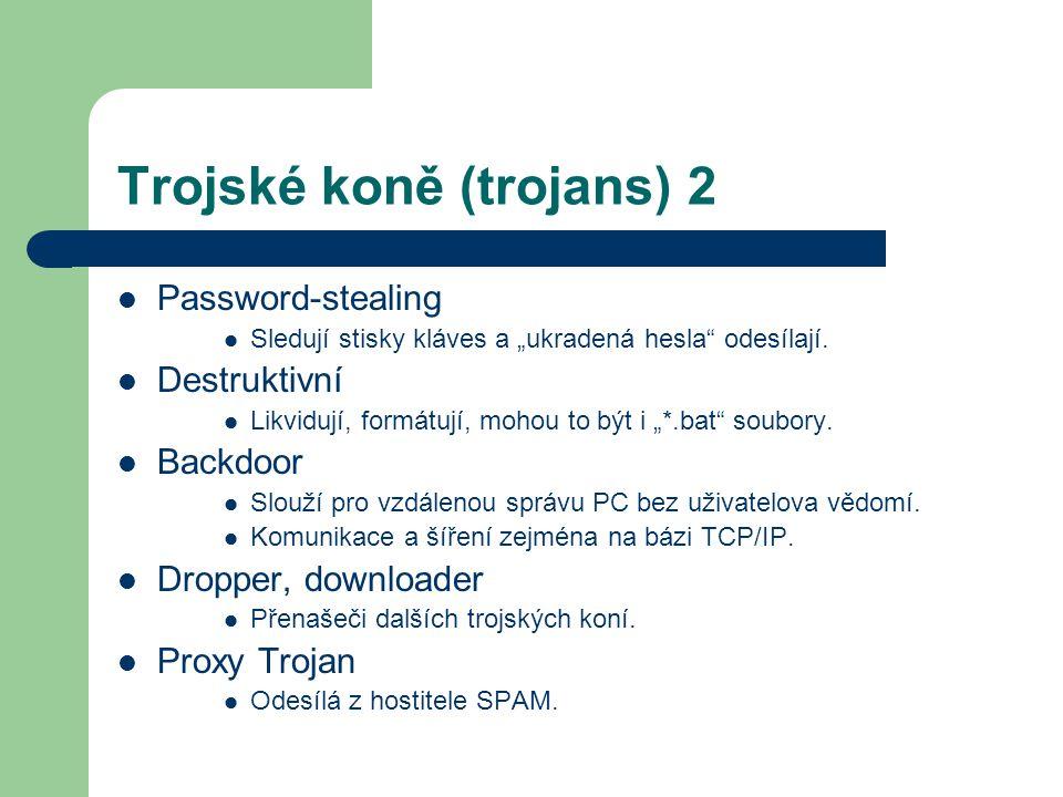 Trojské koně (trojans) 2