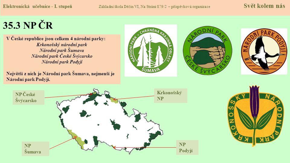 Krkonošský národní park Národní park České Švýcarsko