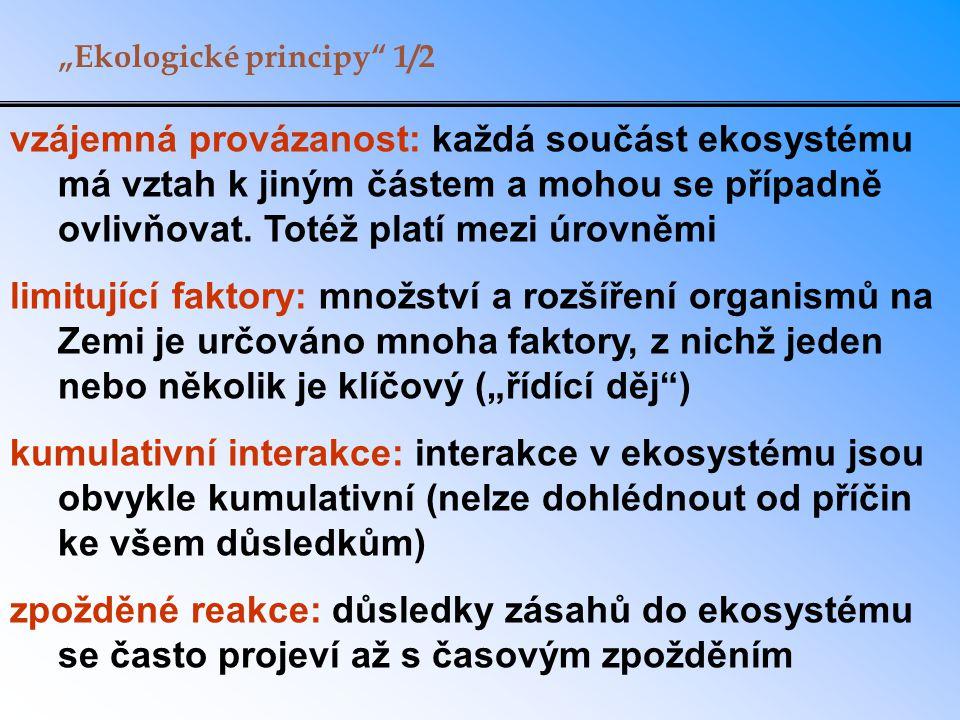 """""""Ekologické principy 1/2"""