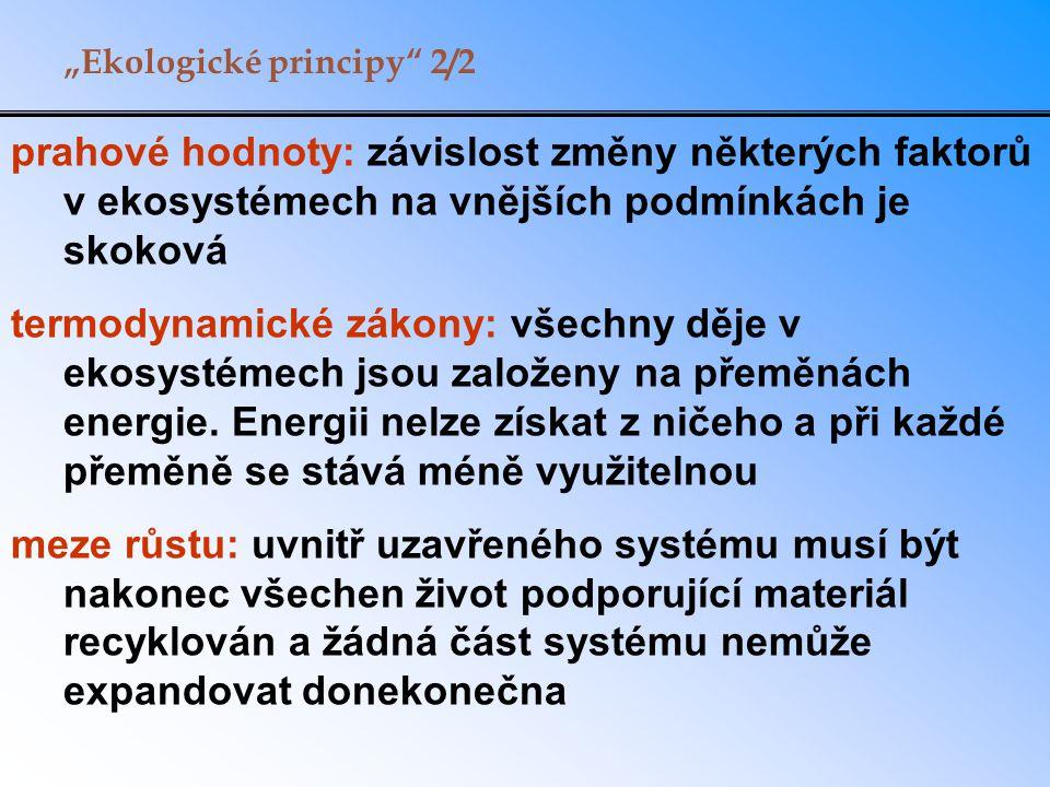 """""""Ekologické principy 2/2"""