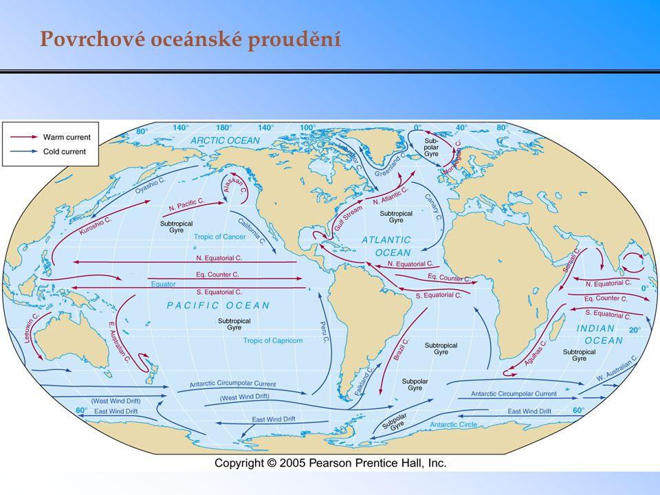 Povrchové oceánské proudění