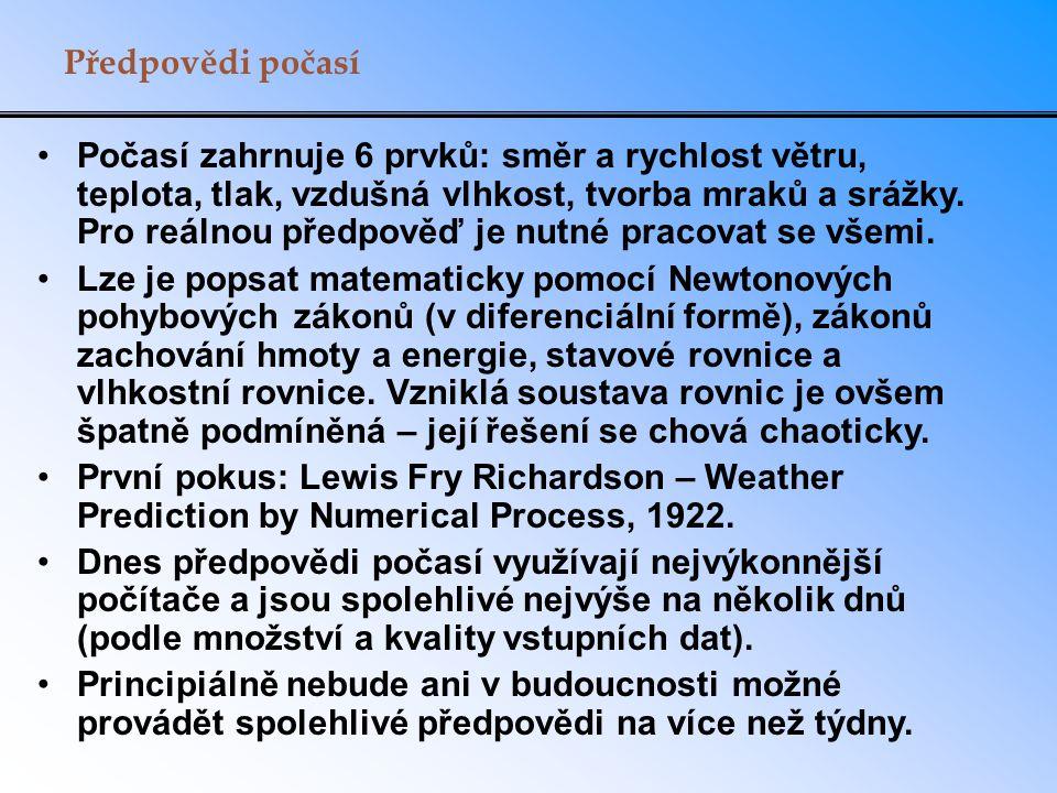 Předpovědi počasí