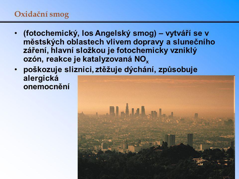 Oxidační smog