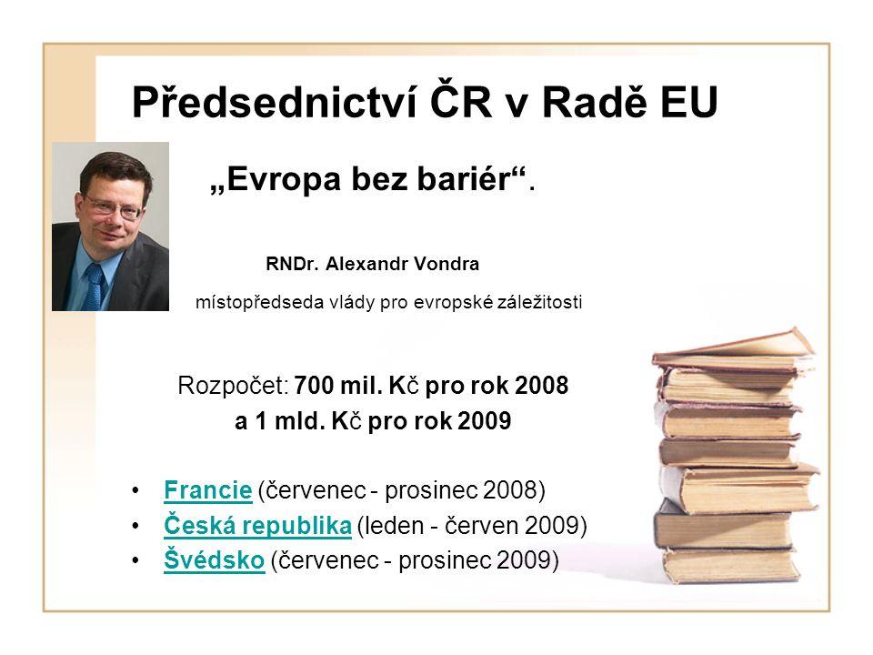 Předsednictví ČR v Radě EU