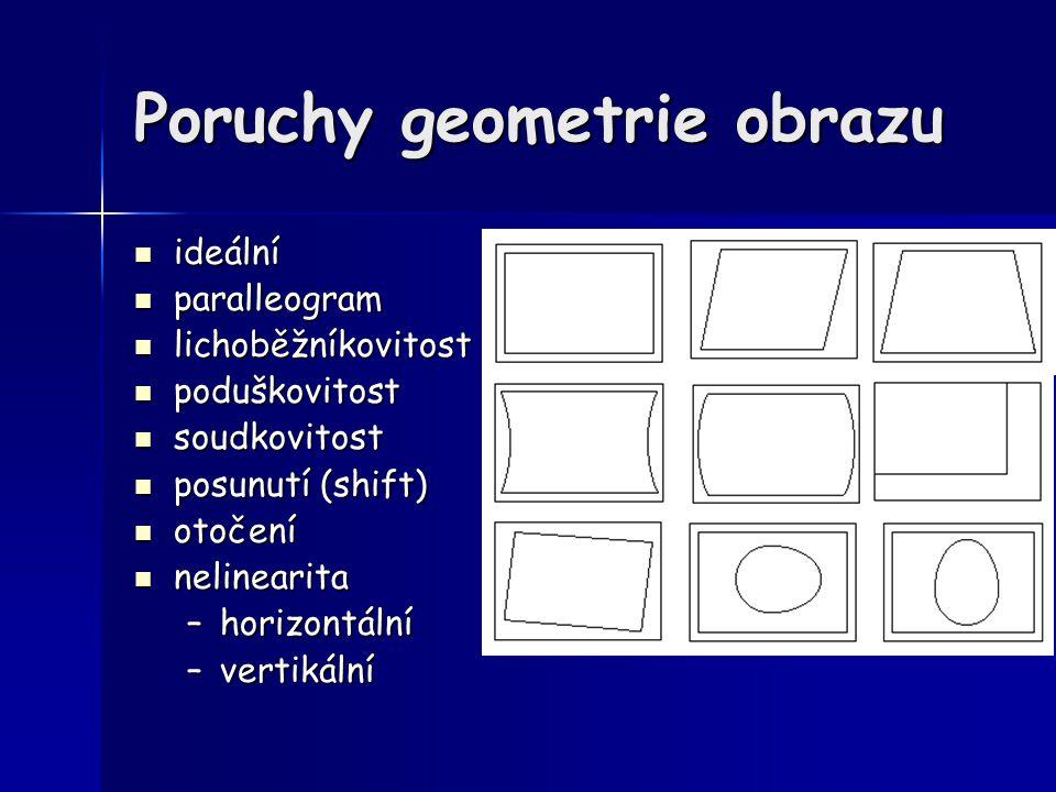 Poruchy geometrie obrazu