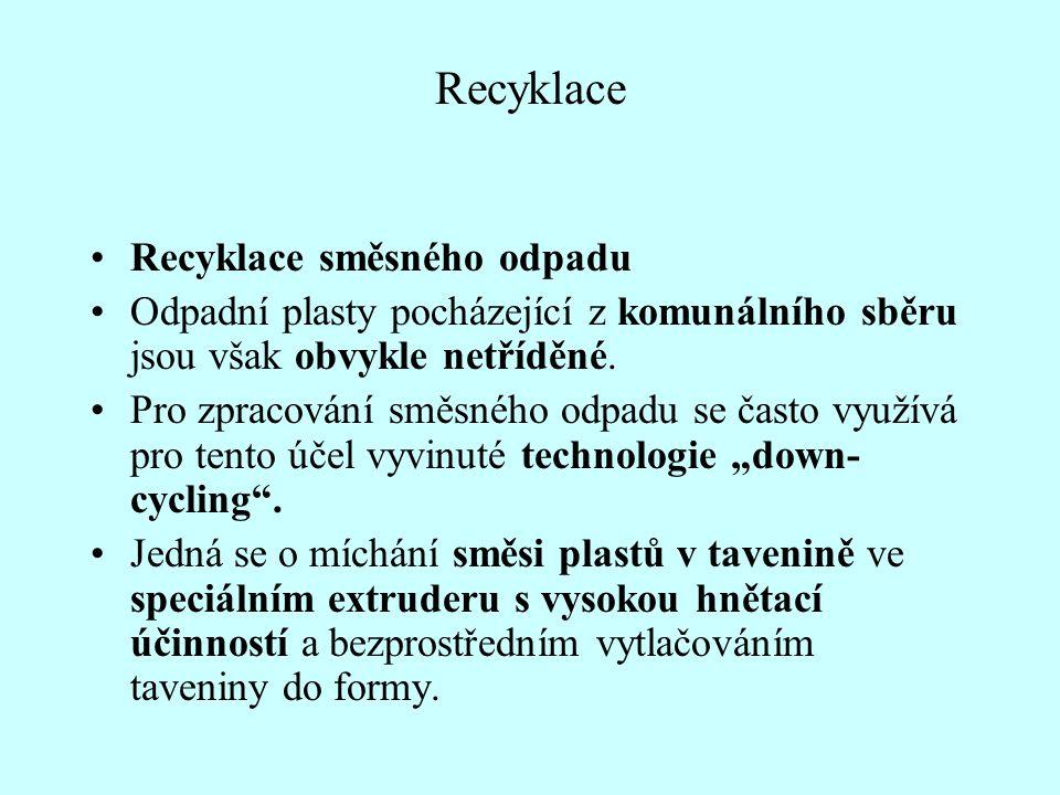 Recyklace Recyklace směsného odpadu