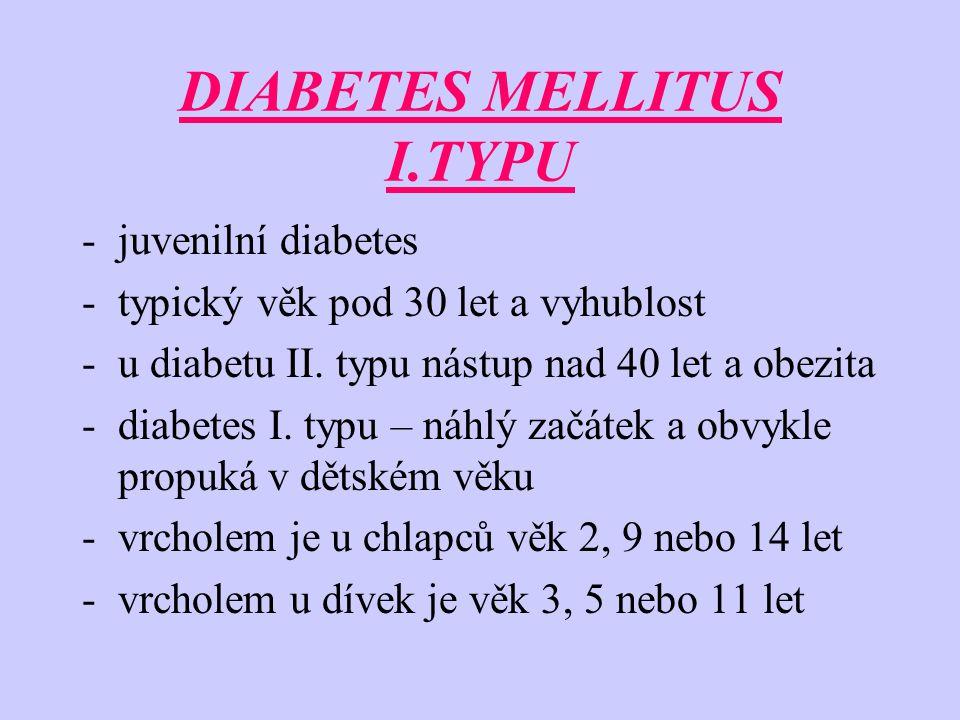 DIABETES MELLITUS I.TYPU