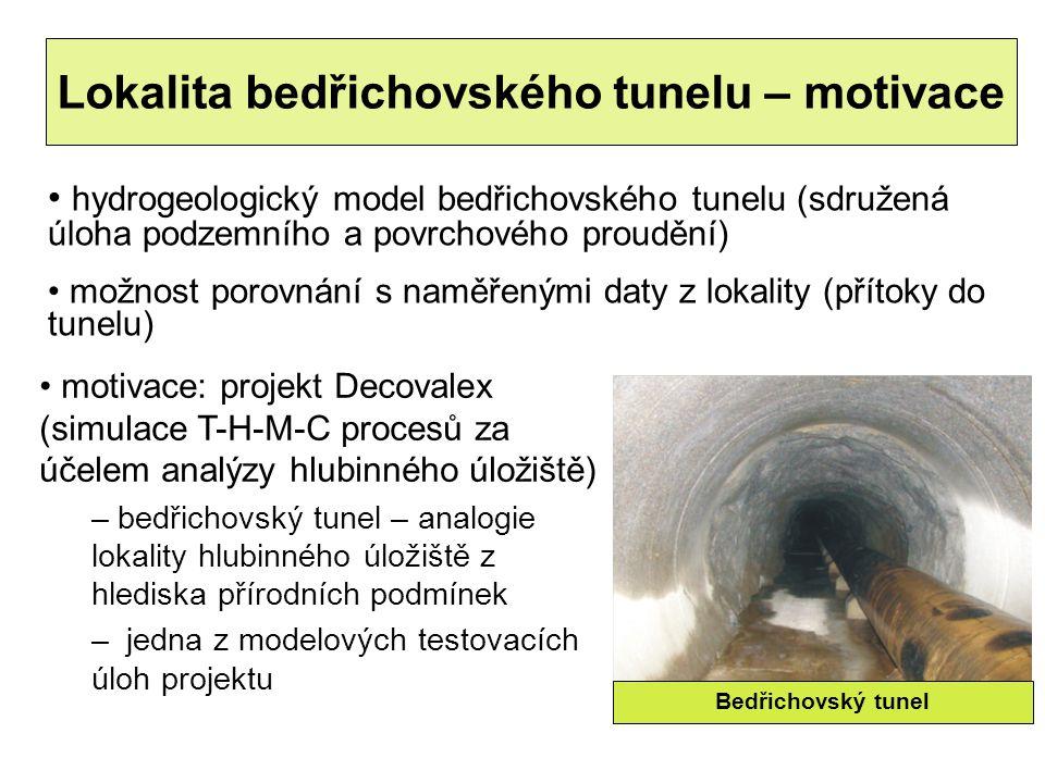 Lokalita bedřichovského tunelu – motivace