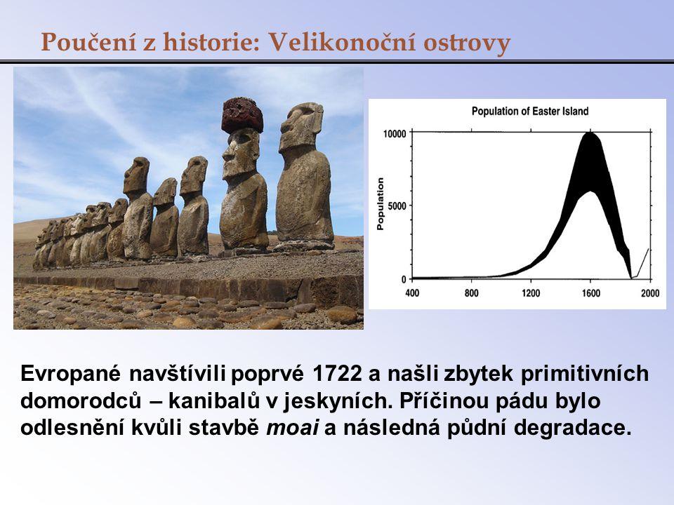 Poučení z historie: Velikonoční ostrovy