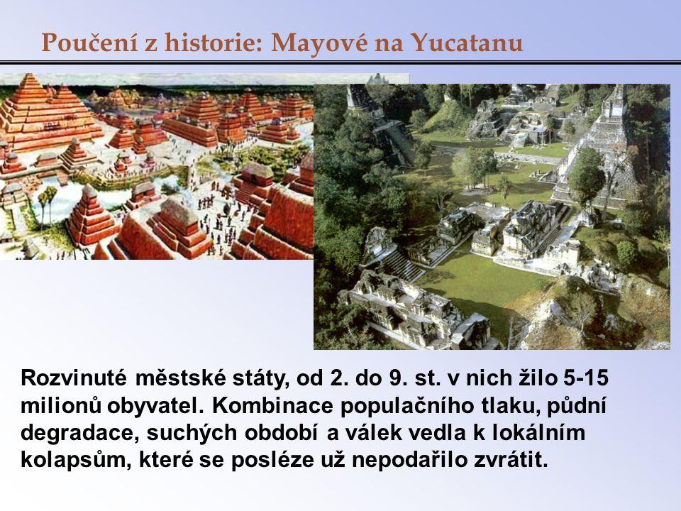 Poučení z historie: Mayové na Yucatanu