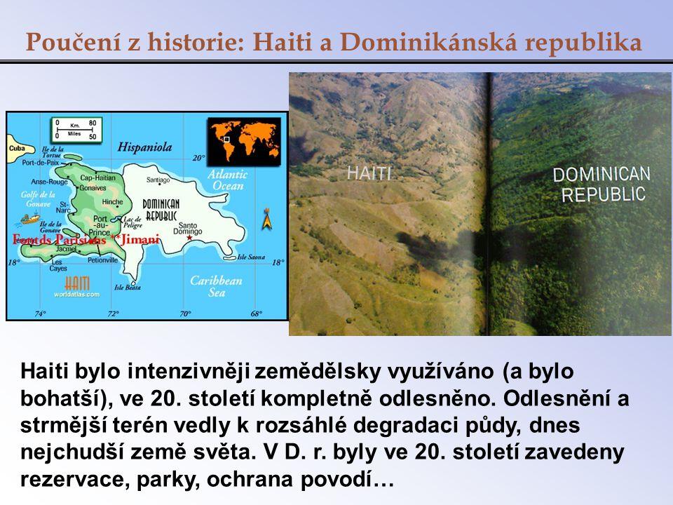 Poučení z historie: Haiti a Dominikánská republika